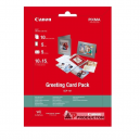 Canon Greeting Card Pack (GCP-101) with photo paper 10x15 cm, 10 sheets