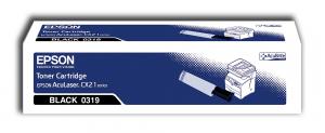 Epson Black Toner Cartridge Aculasr CX21N / NF