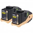 Epson AL-C9300N Double Pack Toner Cartridge Yellow, 7.5k x2