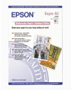 Epson Water Color Paper - Radiant White, DIN A3+, 190g/m2, 20 Blatt