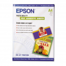 Epson Photo Quality Ink Jet Paper self-adhesive, DIN A4, 167g/m2, 10 Blatt