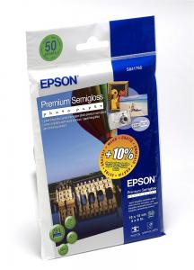 Epson Premium Semigloss Photo Paper, 100 x 150 mm, 251g/m2, 50 Blatt