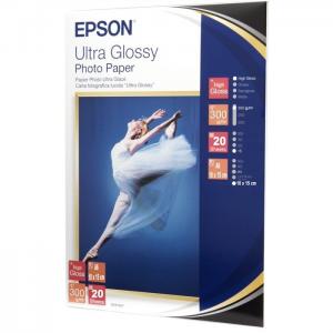 Epson Ultra Glossy Photo Paper, 100 x 150 mm, 300g/m2, 20 Blatt