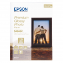 Epson Premium Glossy Photo Paper, 130 x 180 mm, 255g/m2, 30 Blatt