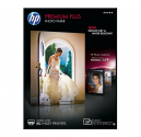 HP Premium Plus Glossy Photo Paper - 20 sht/13 x 18 cm
