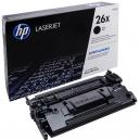 HP 26X High Yield Black Original LaserJet Toner Cartridge (CF226X)