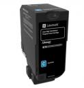 Lexmark Cyan High Yield Return Programme Toner Cartridge