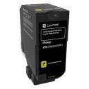 Lexmark Yellow High Yield Return Programme Toner Cartridge
