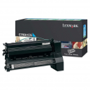 Lexmark C780, C782 Cyan Return Programme Print Cartridge (6K)