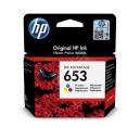 HP 653 Tri-color Original Ink Advantage Cartridge