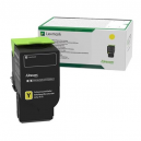 Lexmark 78C20Y0 Yellow Return Programme Toner Cartridge