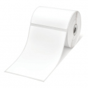 Brother BDE-1J152102-102 White Paper Label Roll, 350 labels per roll, 102x152 mm (Order Multiples of 8)